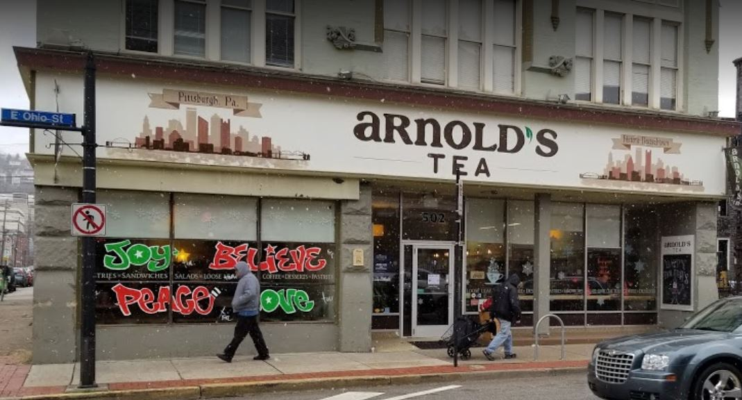 Arnold's Tea – A Great Place to Relax
